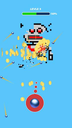 Shooting the Pixel - Guns & Bricks screenshots 1