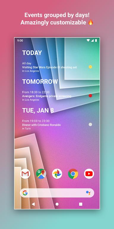 Calendar Widget by Home Agenda 🗓  poster 1