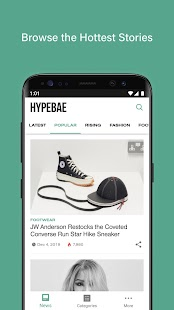HYPEBAE Screenshot