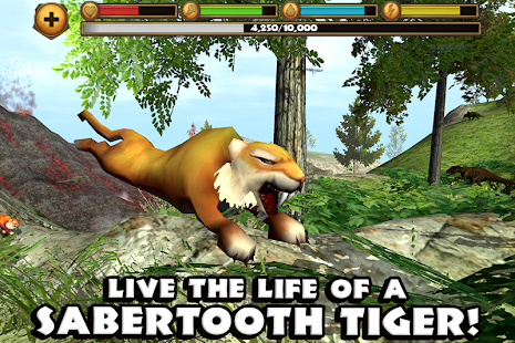 Sabertooth Tiger Simulator Mod