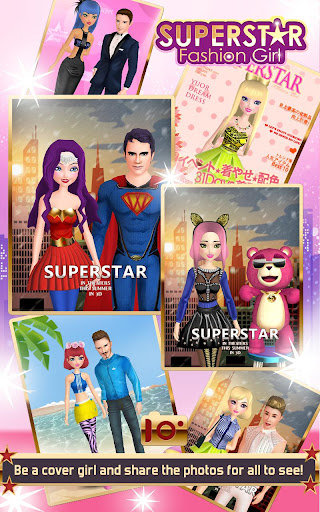 Superstar Fashion Girl 1.1.0 screenshots 4