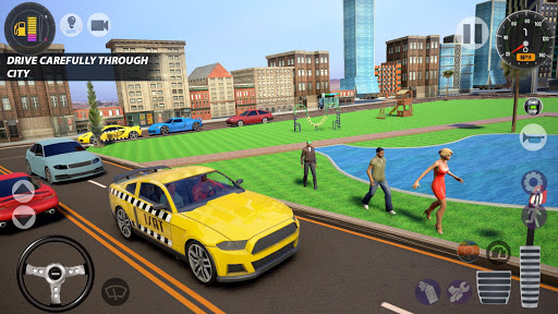 Superhero Taxi Car Driving Simulator - Taxi Games 1.0.2 Screenshots 13
