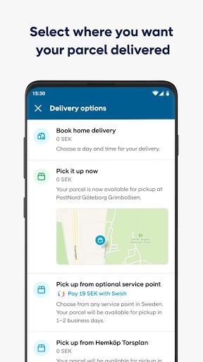 PostNord - Track and send parcels apktram screenshots 2