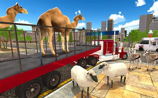 Télécharger Gratuit Animal Hospital Transporter Truck Driver Simulator apk mod screenshots 4