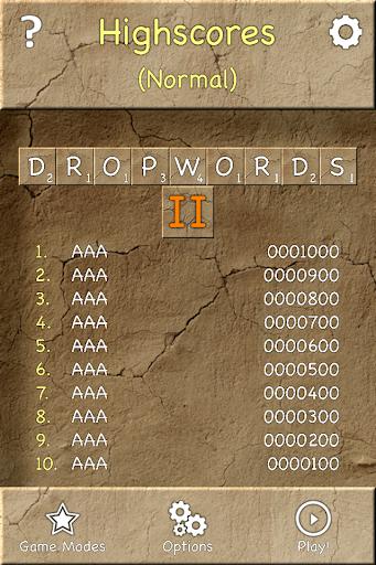Dropwords 2 (Free)  screenshots 1
