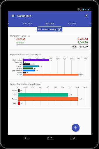 Just Money manager, Budget Bills & Expense tracker  Screenshots 9