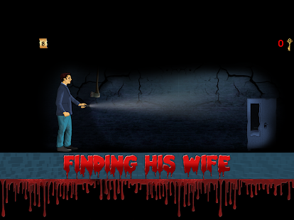 Escape Horror House : The Missing Wife Game Screenshot