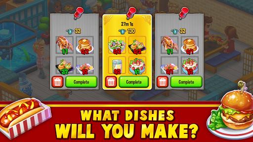 Food Street - Restaurant Management & Food Game APK MOD – Pièces Illimitées (Astuce) screenshots hack proof 2
