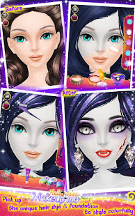 Halloween Makeup Me screenshots 3