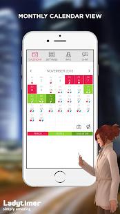 Ladytimer Ovulation & Period Calendar 5.0.6 Screenshots 5