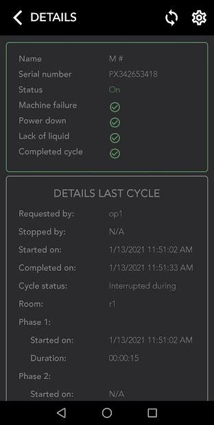 Moduline Pure Control App screenshot 2