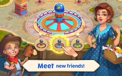 Matchland - Build your Theme Park  screenshots 18