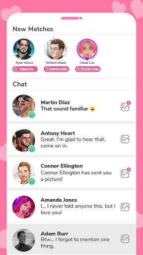 MeChat - Love secrets modavailable screenshots 6