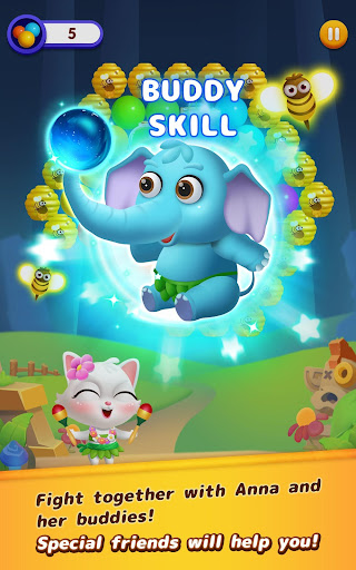 Bubble Shooter: Cat Island Mania 2020 apktram screenshots 10