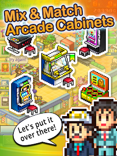 Pocket Arcade Story DX Mod Apk 1.0.9 (Unlimited G Coins/Items) 7