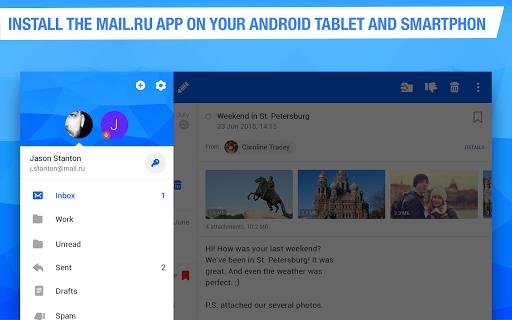 Mail.ru - Email App apktram screenshots 9