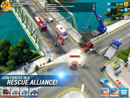 EMERGENCY HQ - free rescue strategy game 1.6.01 Screenshots 16
