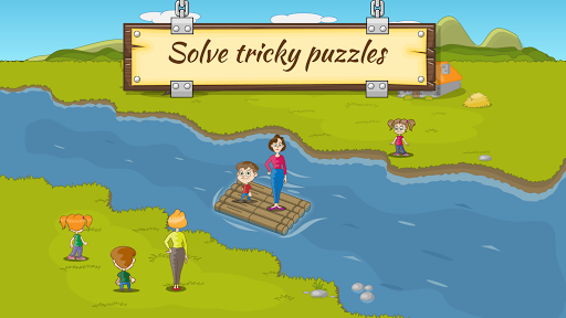 River Crossing IQ Logic Puzzles & Fun Brain Games 1.2.2 Screenshots 3