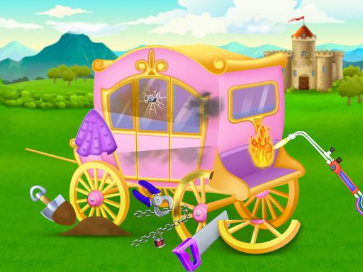 Princess house cleaning adventure - Repair & Fix 9.0 screenshots 2