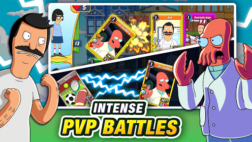 Animation Throwdown: The Collectible Card Game apkslow screenshots 14