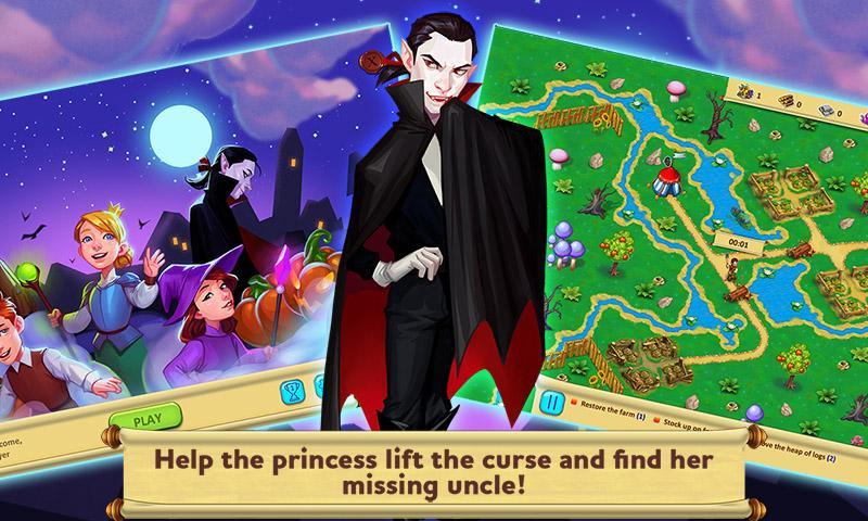 Gnomes Garden 5: Halloween Night (free-to-play)