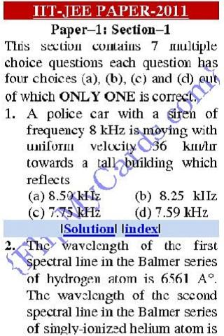 IIT PHYSICS SOLVED PAPERS For PC Windows (7, 8, 10, 10X) & Mac Computer Image Number- 6
