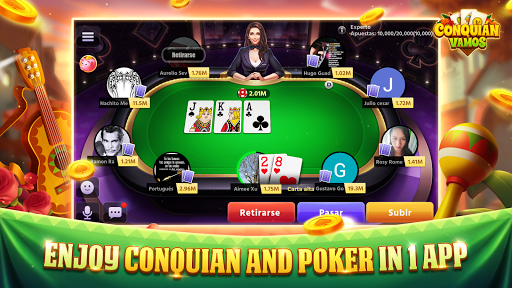 Conquian Vamos - The Best Card Game Online android2mod screenshots 3