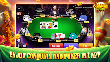 Conquian Vamos - The Best Card Game Online