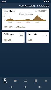 FolderSync Pro Screenshot