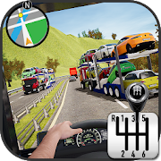 Car Transporter Truck Simulator-Carrier Truck Game