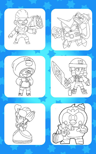 Coloring for Brawl Stars 0.27 screenshots 19