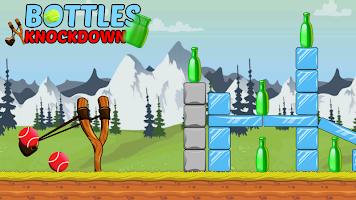 Bottle Shooting Game - Knock Down & Flip