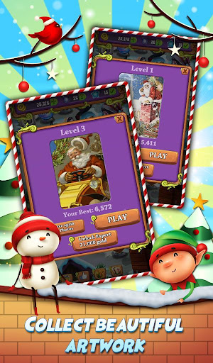 Xmas Mahjong: Christmas Holiday Magic apktram screenshots 4