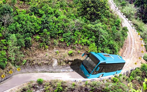 Offroad Mountains Bus Driving Simulator:Coach Game  screenshots 8