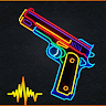 Real Gun Sounds Effect: Gun Simulator 2021 game apk icon