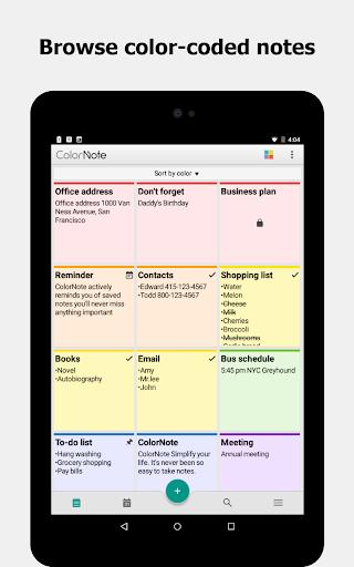 ColorNote Notepad Notes 4.2.4 Screenshots 7