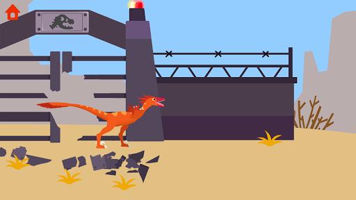 Dinosaur Guard - Jurassic! Driving Games for kids  screenshots 13