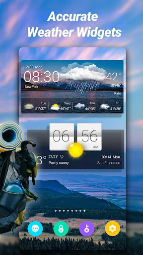 Accurate Weather: Weather Forecast, Clima Widget 1.1.8 Screenshots 2