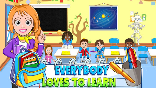 🏫 My Town : Play School for Kids Free 🏫  screenshots 14
