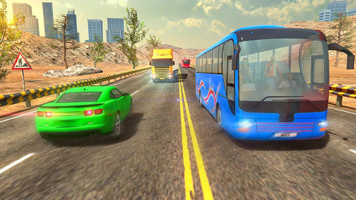 Modern Bus Drive :Hill Station  screenshots 5