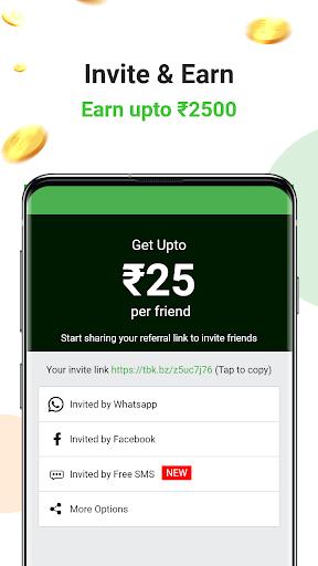 Earn Wallet cash, Free mobile Recharge & coins apktram screenshots 4