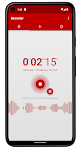 screenshot of Voice Recorder Pro