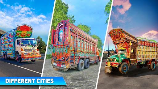 Pak Truck Driver: Heavy Cargo Trailer Truck Apps  screenshots 11