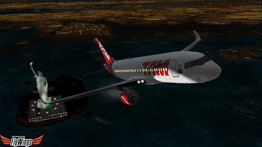 Flight Simulator Night - Fly Over New York NY 1.0.1 screenshots 16