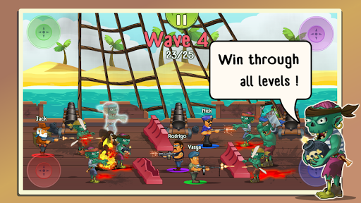 Four guys & Zombies (four-player game) 1.0.2 screenshots 10