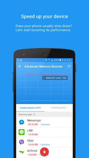 Foto do Task Manager – System booster