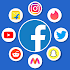 All in one social media app, Shopping Apps Free
