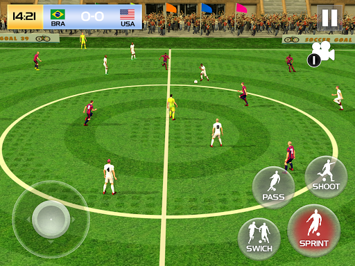 Soccer League Season 2021: Mayhem Football Games  screenshots 8