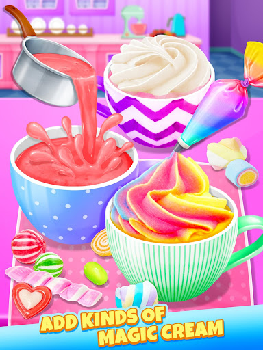 Unicorn Hot Chocolate - Dream Food Maker 1.3 screenshots 6