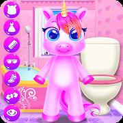 Rainbow Little Unicorn Daily Caring